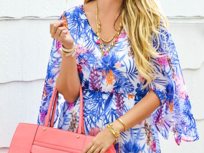 Tropical Prints with PinkBlush