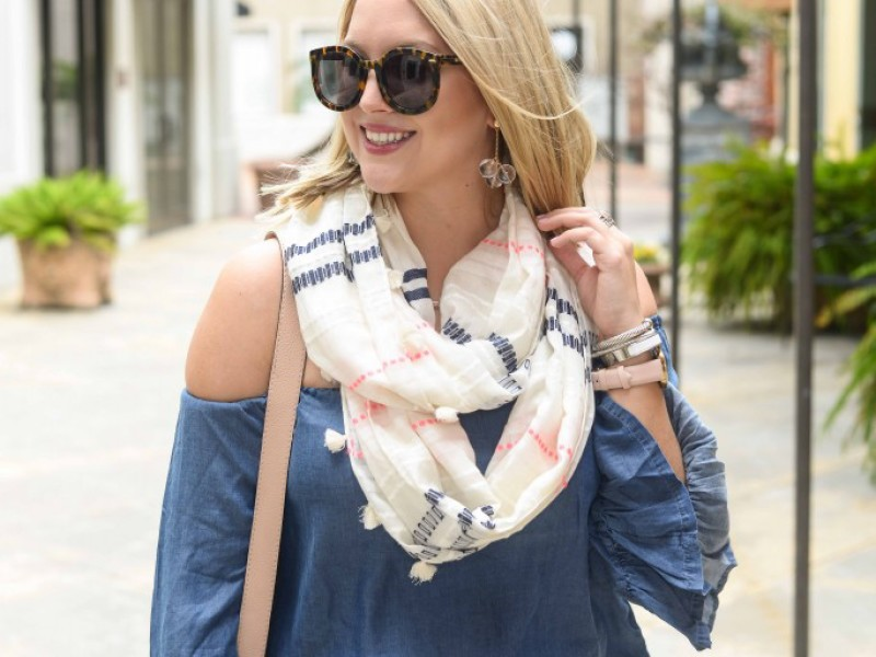 Ruffled Denim for Spring
