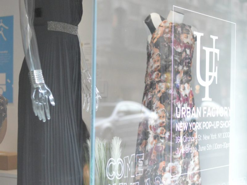 Urban Factory Pop Up Shop