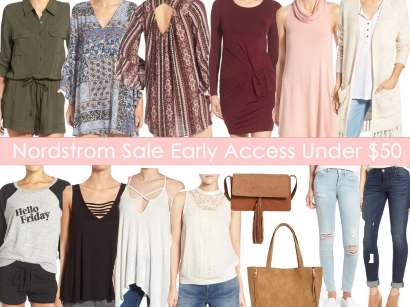 Nordstrom Anniversary Sale-Under $50!