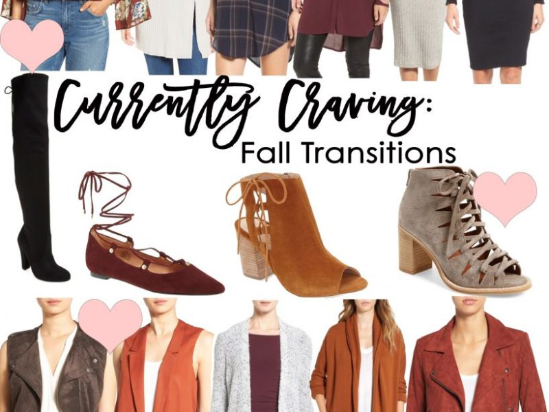Currently Craving: Fall Transitions