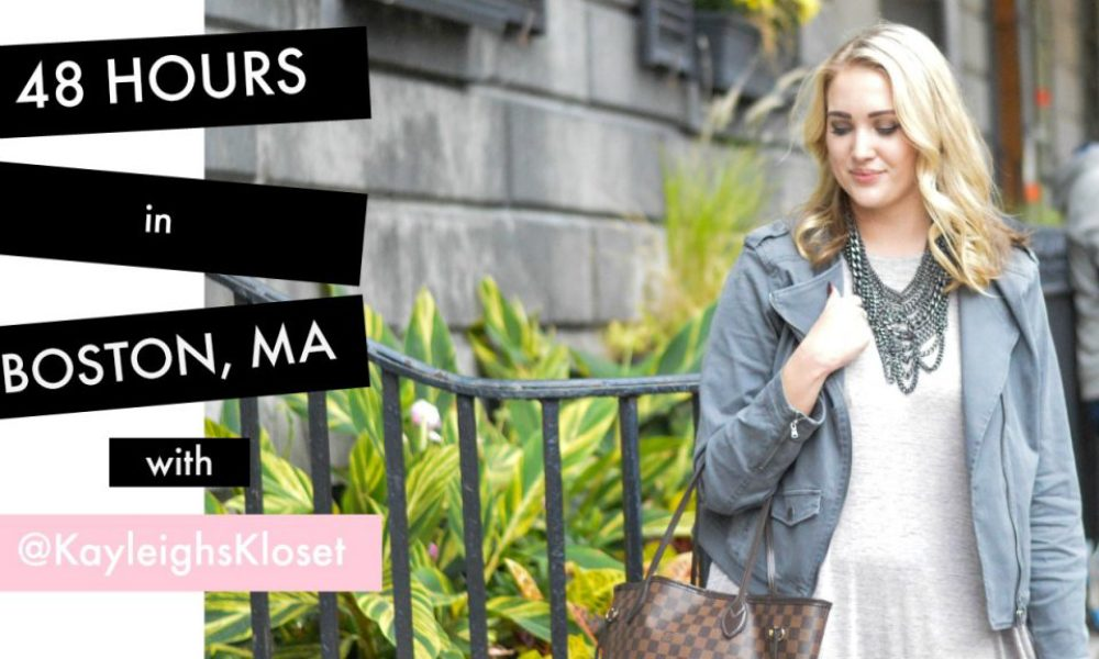Tour Guide: 48 Hours in Boston