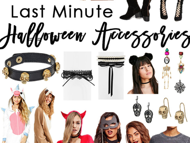 Last Minute Halloween Accessories