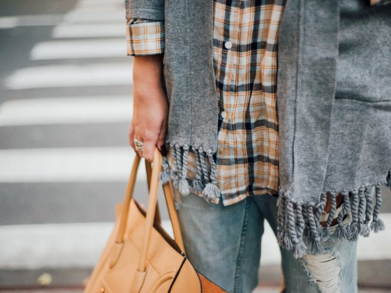 Plaid + Fringe