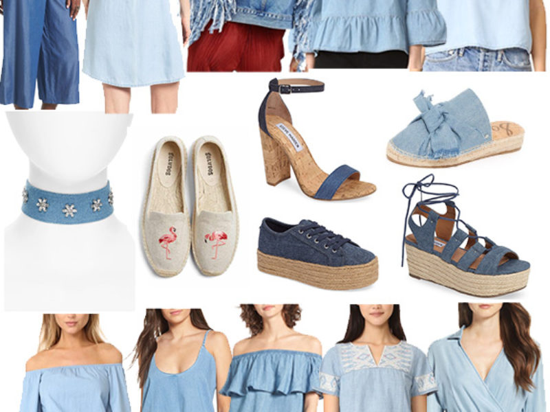 Wednesday's Weekly Wishlist: Chambray Edition