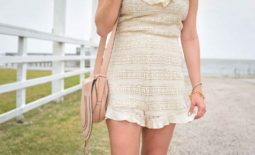 Ruffle Trim Lace Romper + Wednesday's Weekly Wishlist