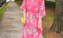 Pink Floral Maxi Dress + Wednesday's Weekly Wishlist