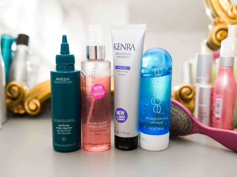 My Current Favorite Haircare Products
