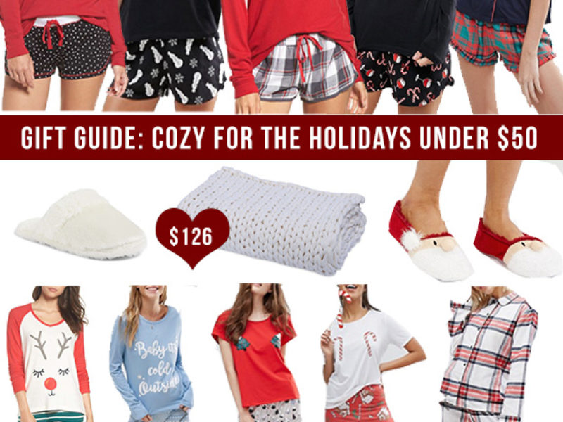 Holiday Gift Guide: Cozy Under $50
