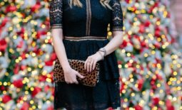 Little Black Holiday Dress
